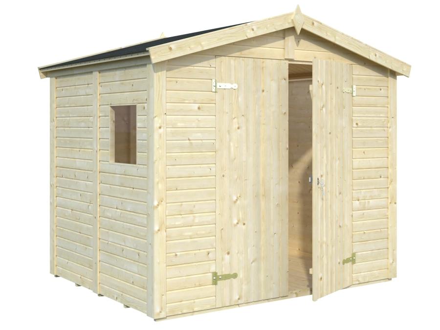 Cobertizo de madera DAN 4,6 m2