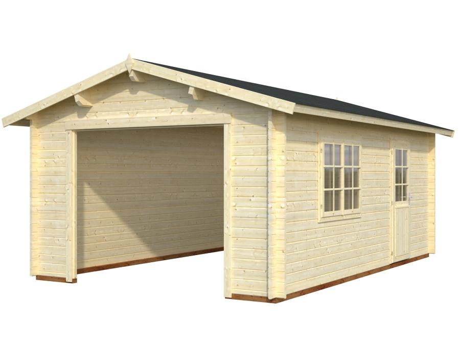 Garaje ROGER 19,0 m2 sin puerta