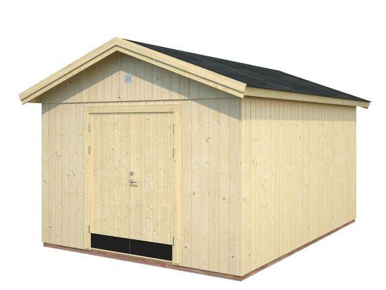 Cobertizo de madera MARTIN 13,6 m2