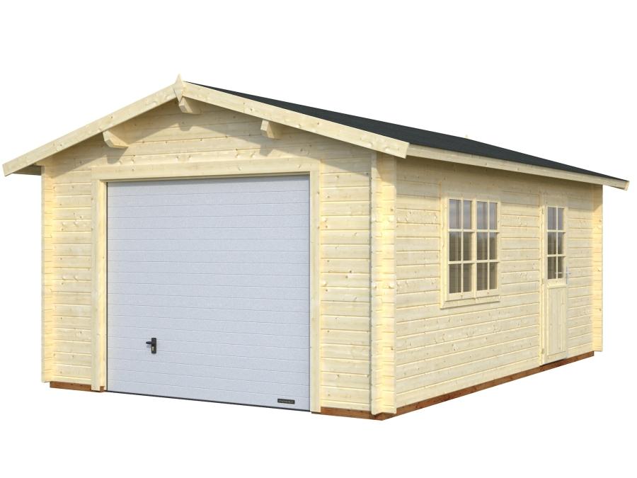 Garaje ROGER 19,0 m2 con puerta seccional