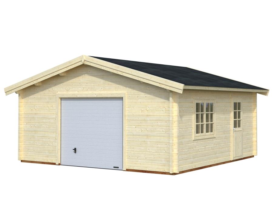 Garaje ROGER 27,7 m2 con puerta seccional