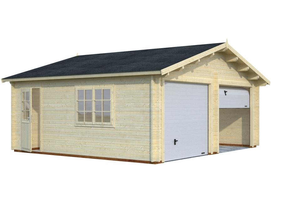 Garaje ROGER 28,4 m2 con puerta seccional