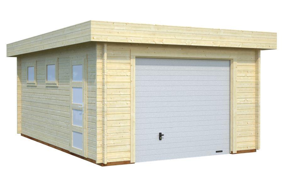 Garaje RASMUS 19,0 m2 con puerta seccional