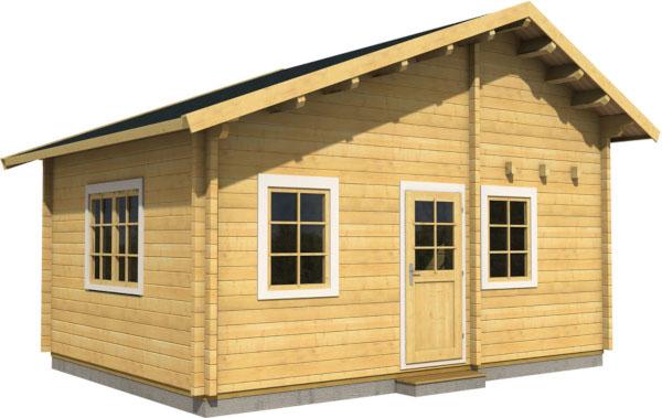 Casa Madera MARIKA 30,4 m2 88 mm