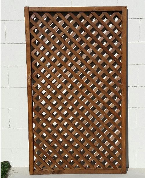 CELOSIA de ABETO tratado enmarcada, 149 x 89 cm