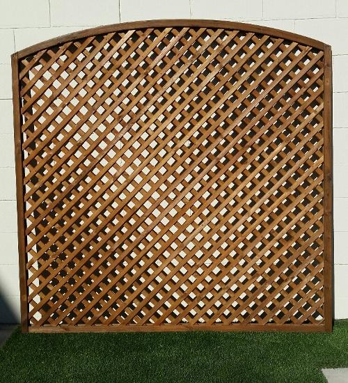 CELOSIA de ABETO tratado enmarcada, 149 x 149 cm