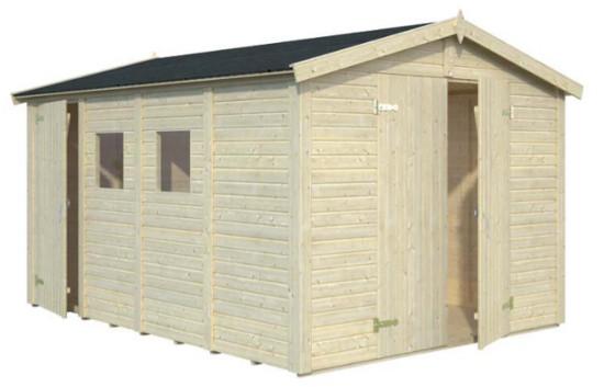 Cobertizo de madera DAN 10,0 m2