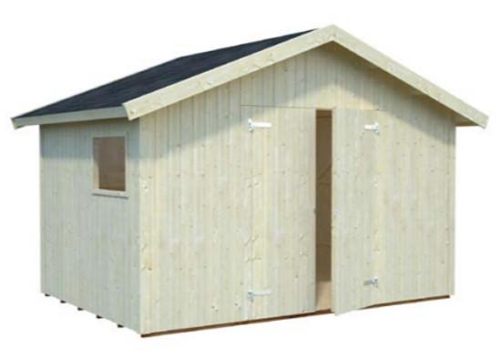 Cobertizo NILS 8,2 m2