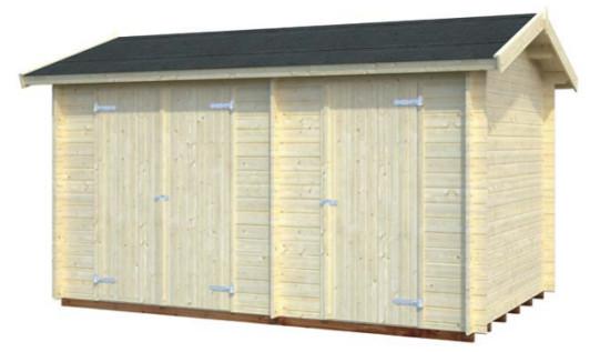 Cobertizo de madera JARI 8,9 m2