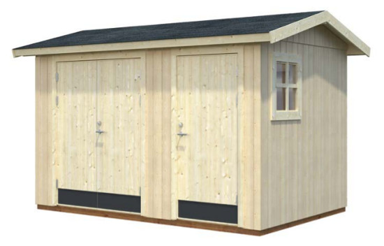 Cobertizo de madera OLAF 6,6 m2