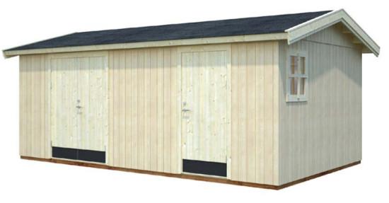 Cobertizo de madera OLAF 16,9 m2