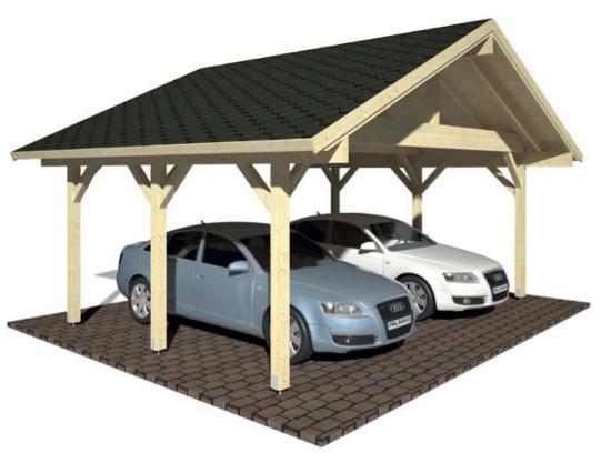 Carport ROBERT 20,6 m2