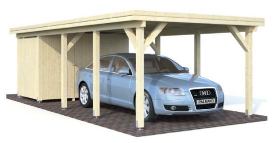 Carport KARL 23,1 m2