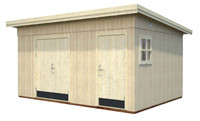 Cobertizo KALLE 13,5 m2