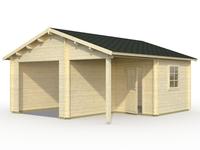 Garaje ROGER 21,9+5,2 m2 sin puerta