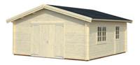 Garaje ROGER 27,7 m2 con port�n de madera