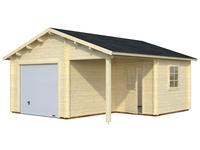 Garaje ROGER 21,9+5,2 m2 con puerta seccional