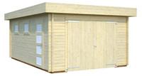 Garaje RASMUS 19,0 m2 con port�n de madera