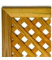 CELOSIA de pino tratado enmarcada 230 x 94 cm