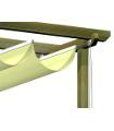 Toldo corredero ondas tejido tecnico SOLTIS 2,5x4 m