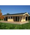 Casa Madera ASTRID 42,0 m2 114 mm