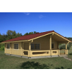 Casa Madera INGRID 54,4 m2 114 mm